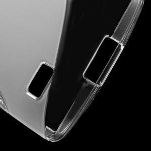 S-line gelový obal na mobil LG Leon - transparentní - 4