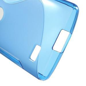 S-line gelový obal na mobil LG Leon - modrý - 4