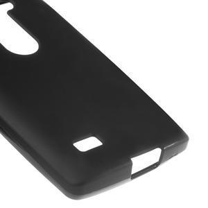 Matný gelový obal na mobil LG Leon - černý - 4