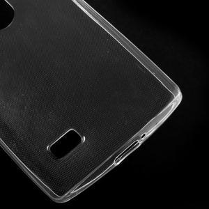 Ultratenký gelový obal na mobil LG Leon - transparentní - 4