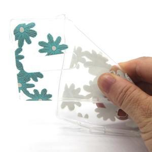 Transparentní gelový obal na mobil LG Spirit - sedmikrásky - 4