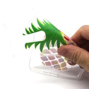 Transparentní gelový kryt na mobil LG Spirit - ananas - 4