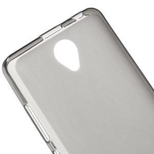Gelový obal na mobil Lenovo A5000 - šedé - 4