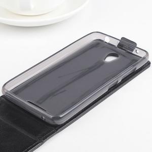 Flipové pouzdro na mobil Lenovo A5000 - černé - 4