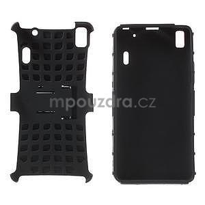 Odolné pouzdro na Lenovo K3 Note a Lenovo A7000 - černé - 4