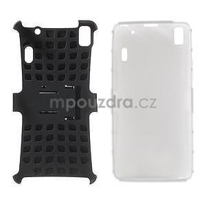 Odolné pouzdro na Lenovo K3 Note a Lenovo A7000 - bílé - 4