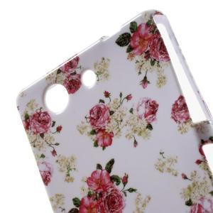 Gelový obal pro Sony Xperia Z3 mini - roses - 4