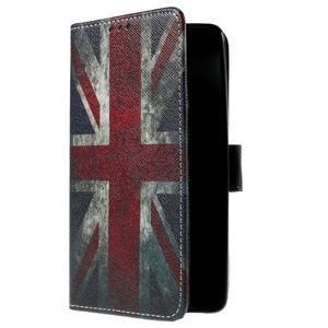 Cross peněženkové pouzdro na Xiaomi Mi4 - UK vlajka - 4