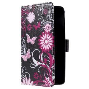 Cross peněženkové pouzdro na Xiaomi Mi4 - kouzelní motýlci - 4