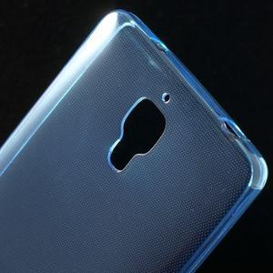 Ultratenký slim gelový obal na Xiaomi Mi4 - modrý - 4