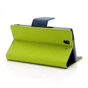 Mr. Goos peněženkové pouzdro na Sony Xperia Z - zelené - 4