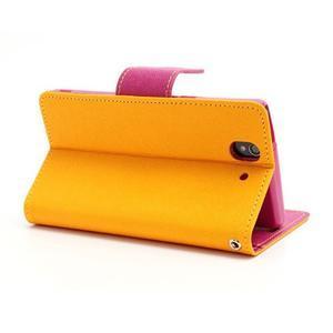 Mr. Goos peněženkové pouzdro na Sony Xperia Z - žluté - 4