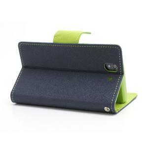 Mr. Goos peněženkové pouzdro na Sony Xperia Z - tmavěmodré - 4