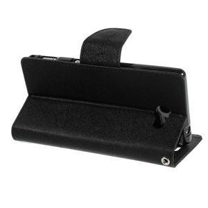 Mr. Goos peněženkové pouzdro na Sony Xperia M2 - černé - 4