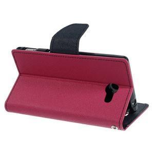 Mr. Goos peněženkové pouzdro na Sony Xperia M2 - rose - 4