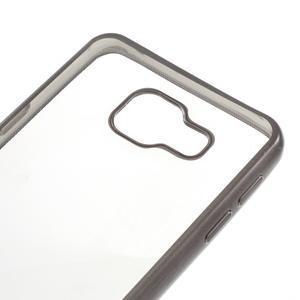 Rich gelový obal s šedým obvodem na Samsung Galaxy A3 (2016) - 4