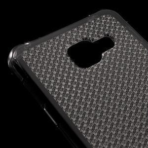Diamonds gelový obal na Samsung Galaxy A3 (2016) - šedý - 4