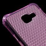 Diamonds gelový obal na Samsung Galaxy A3 (2016) - růžový - 4/5