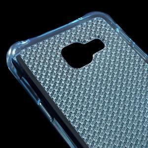 Diamonds gelový obal na Samsung Galaxy A3 (2016) - modrý - 4