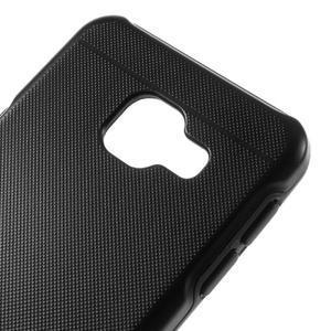 Odolný ochranný obal 2v1 na mobil Samsung Galaxy A3 (2016) - černý - 4