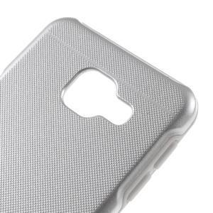 Odolný ochranný obal 2v1 na mobil Samsung Galaxy A3 (2016) - stříbrný - 4