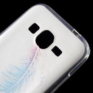 Ultratenký slim obal na Samsung Galaxy Core Prime - peříčko - 4