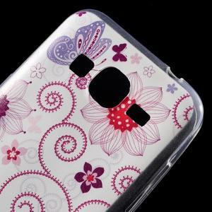 Ultratenký slim obal na Samsung Galaxy Core Prime - motýlek - 4
