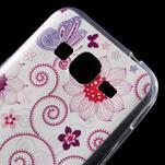Ultratenký slim obal na Samsung Galaxy Core Prime - motýlek - 4/5