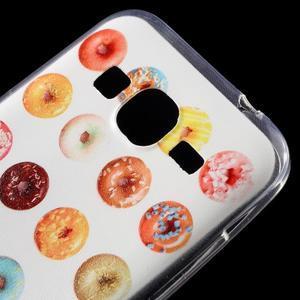Ultratenký slim obal na Samsung Galaxy Core Prime - donuts - 4