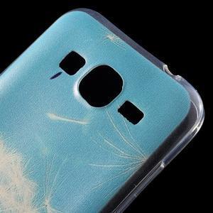 Ultratenký slim obal na Samsung Galaxy Core Prime - pampeliška - 4
