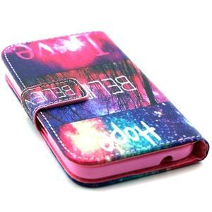 Pouzdro na mobil Samsung Galaxy Core Prime - believe - 4