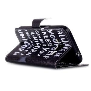 Emotive peněženkové pouzdro na Samsung Galaxy Core Prime - unicorn - 4