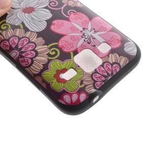 Hardy gelový obal na mobil Samsung Galaxy Core Prime - květinová koláž - 4