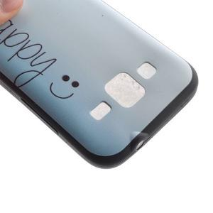 Hardy gelový obal na mobil Samsung Galaxy Core Prime - be happy - 4