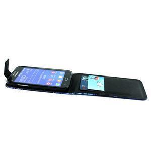 Flipové pouzdro na mobil Samsung Galaxy Core Prime - magičtí vlci - 4