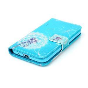 Knížkové pouzdro na Samsung Galaxy Core Prime - pampeliška - 4