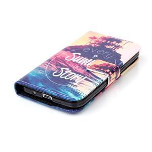 Knížkové pouzdro na Samsung Galaxy Core Prime - letní story - 4