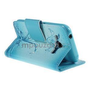 Zapínací pouzdro pro Samsung Galaxy J1 - vodní květina - 4