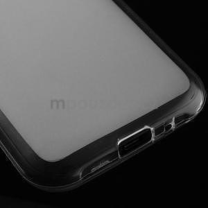Matný gelový obal na Samsung Galaxy J1 - bílý - 4