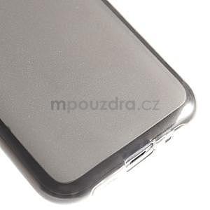 Matný gelový obal na Samsung Galaxy J1 - šedý - 4