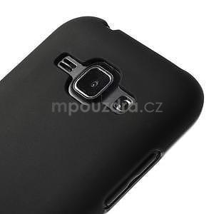 Černý matný kryt na Samsung Galaxy J1 - 4
