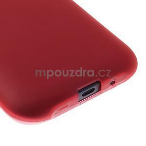 Červený matný kryt na Samsung Galaxy J1 - 4