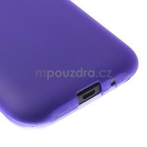 Fialový matný kryt na Samsung Galaxy J1 - 4