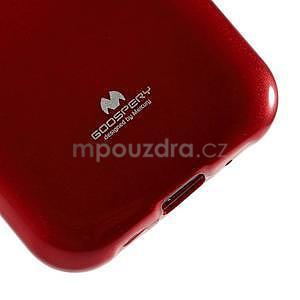 Červený gelový obal na Samsung Galaxy J1 - 4