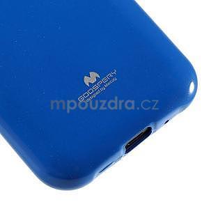 Modrý gelový obal na Samsung Galaxy J1 - 4