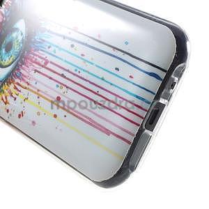 Gelový kryt na Samsung Galaxy J1 - barevné oko - 4
