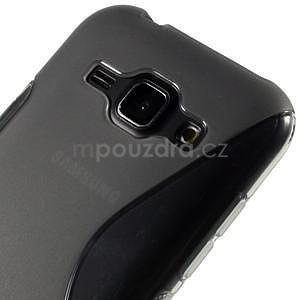 Šedý gelový s-line obal Samsung Galaxy J1 - 4