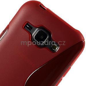Červený gelový s-line obal Samsung Galaxy J1 - 4