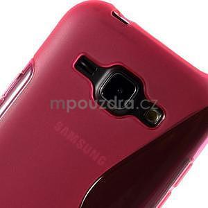 Rose gelový s-line obal Samsung Galaxy J1 - 4