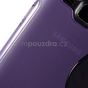 Fialový gelový s-line obal Samsung Galaxy J1 - 4